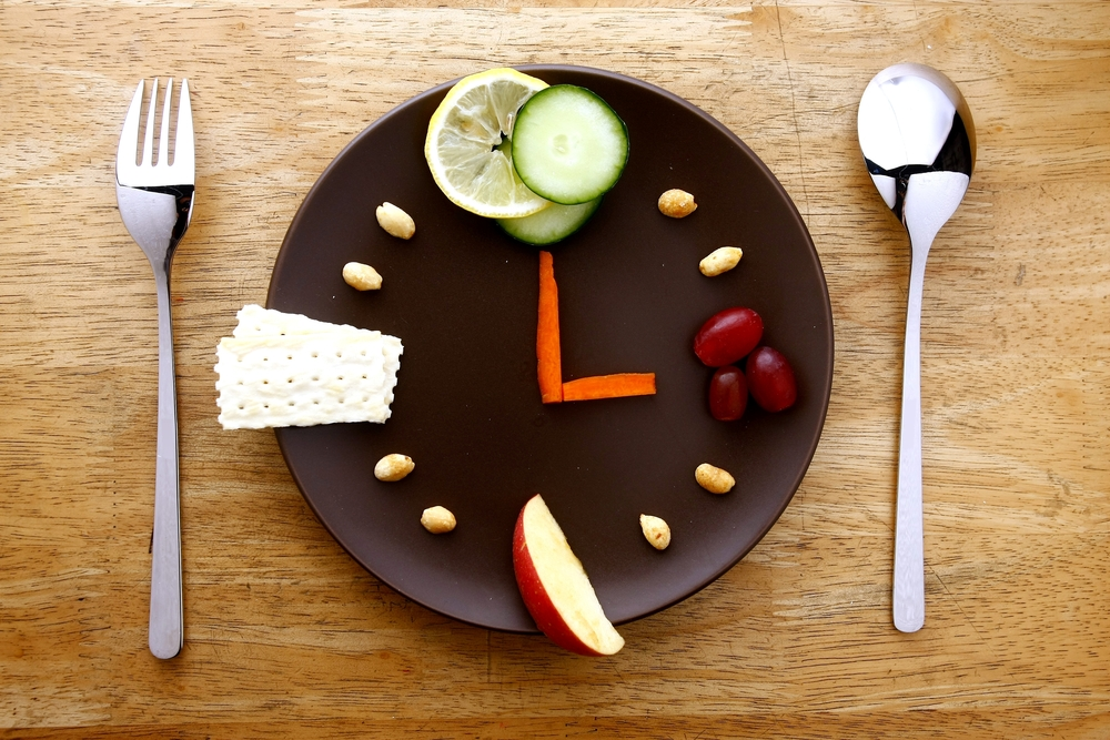時計を表現した食べ物